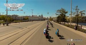 Мотоколонна Екатеринбург