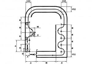Рисунок 4 Схема Б Скоростное маневрирование